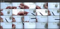Мультиметр. Как припаять иголки к щупу (2015)