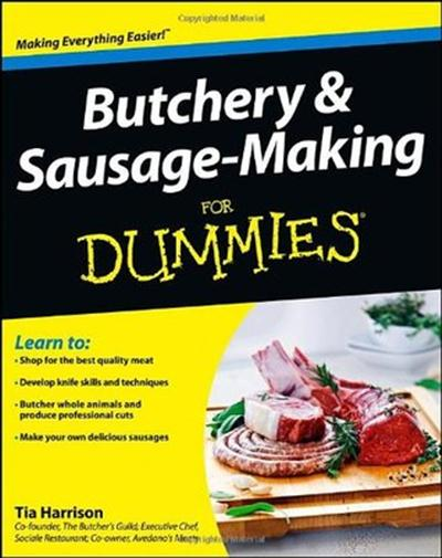 Butchery & Sausage-Making For Dummies