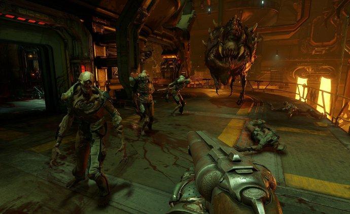 Вид игры Doom 4