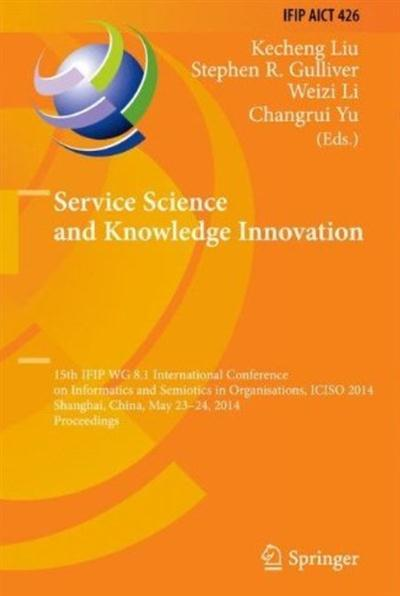 Service Science and Knowledge Innovation