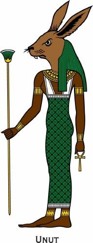 Древний Египет: Персонажи мифологии (векторные отрисовки)