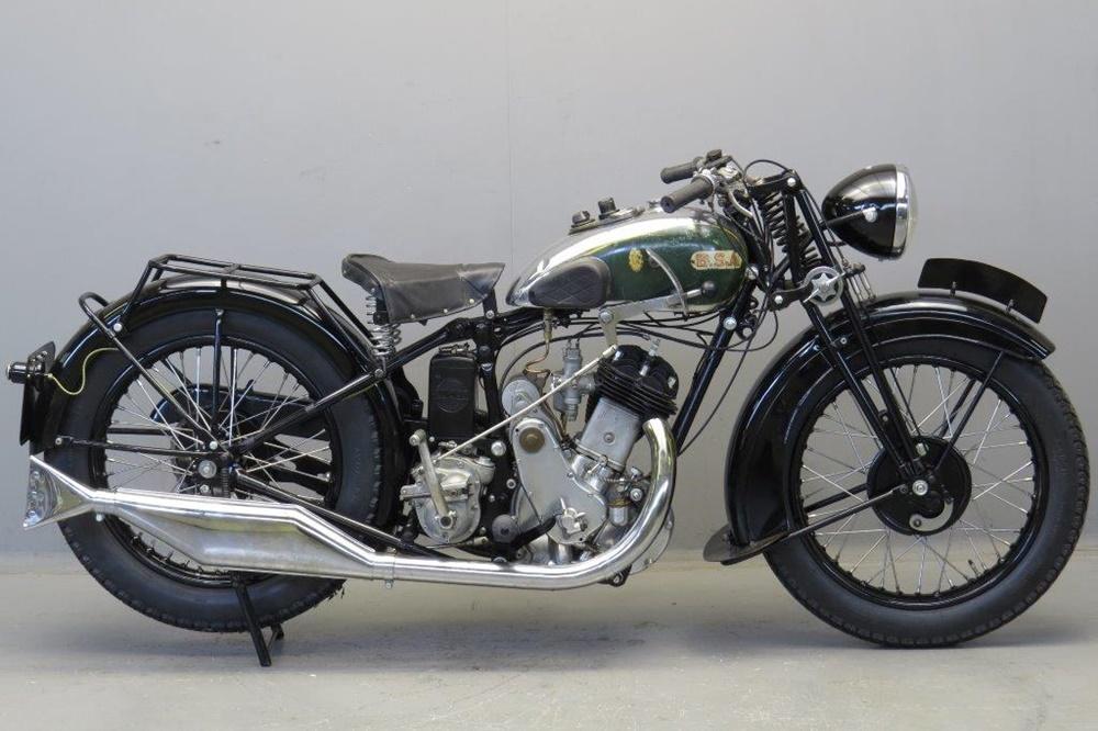 Мотоцикл BSA M33-10 Sloper