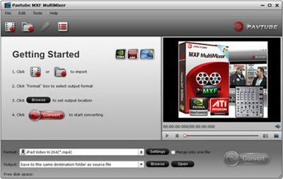 Pavtube MXF MultiMixer 4.8.6.2.171 Retail