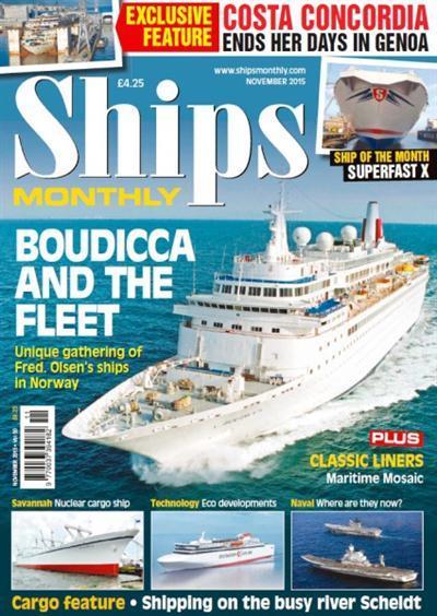 Ships Monthly - November 2015