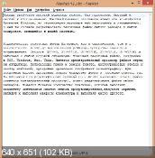 AkelPad 4.9.4 - текстовый редактор