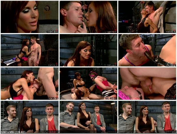 [DivineBitches.com / Kink.com] Sebastian Keys , Gia DiMarco and Ryan Honey (Feminized Cuckold Reality)... Slut wife, Chastity belt, The humiliation of her husband