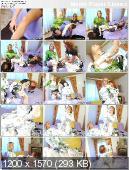 Margarita and Lyssa York - Shaving Foam Massage