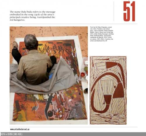 Art Collector - 2015 Guide to Indigenous Art Centres