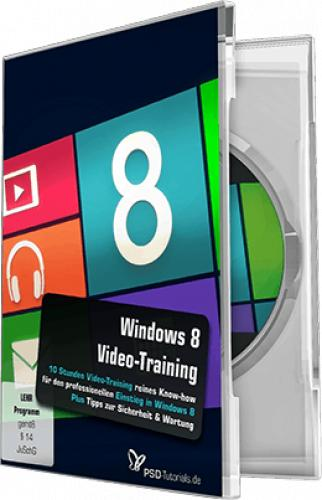 PSD Tutorials - Windows 8 Video Training (German)