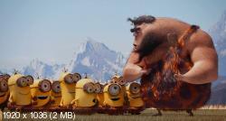 Миньоны (2015) HDTVRip 1080p | Чистый звук