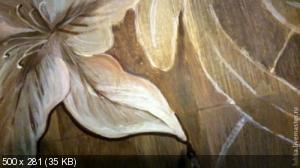 Ручная роспись деревянного пола. Идеи F36162f5ceb6cdb291832762fbb22d2e