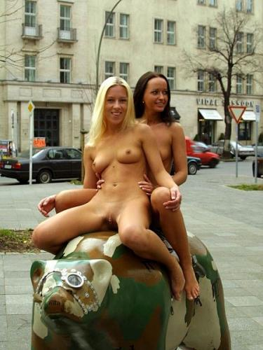Aniko K. and Jill -
